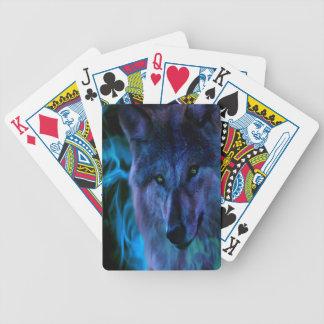 Jeu De Cartes Cartes de jeu de tisonnier de loup
