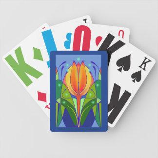 Jeu De Cartes Cartes de jeu de tulipe pour la basses