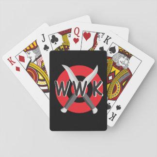 Jeu De Cartes Cartes de jeu de WWK