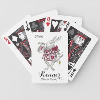 Jeu De Cartes Cartes de jeu décorées d'un monogramme (pays des
