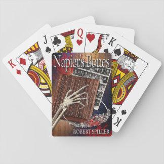 Jeu De Cartes Cartes de jeu des os de Napier