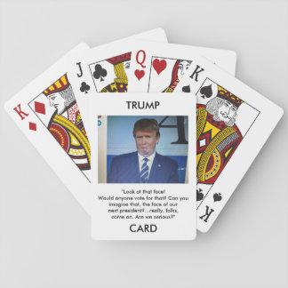Jeu De Cartes Cartes de jeu d'image/citation de Donald Trump
