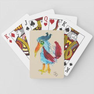 Jeu De Cartes Cartes de jeu d'oiseau de Joanne