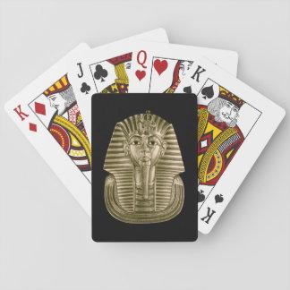 Jeu De Cartes Cartes de jeu d'or du Roi Tut
