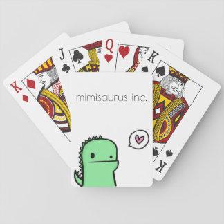 Jeu De Cartes cartes de jeu du mimisaurus inc.