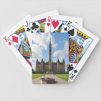 Jeu De Cartes Cartes de jeu du Parlement d'Ottawa