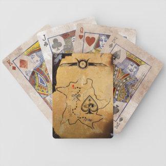 Jeu De Cartes Cartes de jeu égyptiennes de carte de trésor