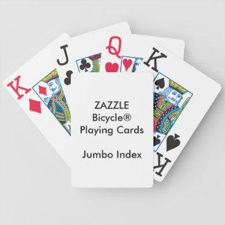 Jeu De Cartes Cartes de jeu enormes faites sur commande d'index