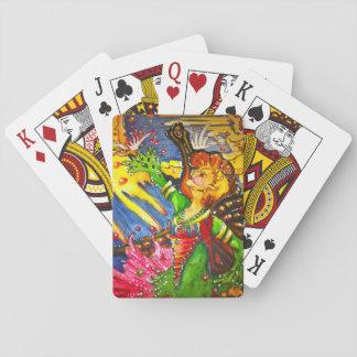 Jeu De Cartes Cartes de jeu féeriques célestes