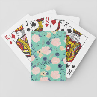 Jeu De Cartes Cartes de jeu florales