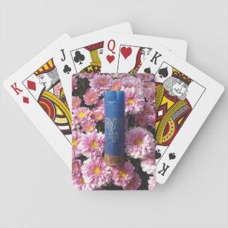 Jeu De Cartes Cartes de jeu florales de Shell de munitions