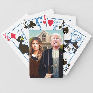 Jeu De Cartes Cartes de jeu gothiques américaines de l'élection