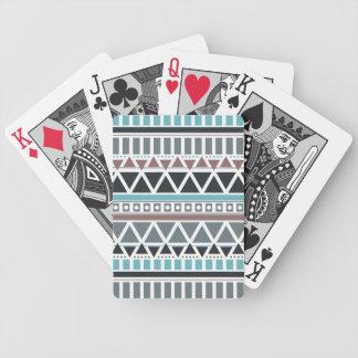 Jeu De Cartes Cartes de jeu inspirées par Aztèque de motif