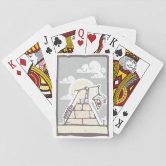 Jeu De Cartes Cartes de jeu maçonniques de pyramide