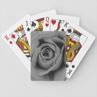 Jeu De Cartes Cartes de jeu monochromatiques de rose
