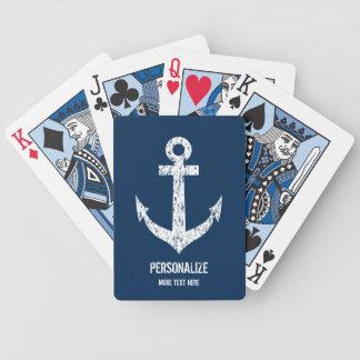 Jeu De Cartes Cartes de jeu nautiques faites sur commande
