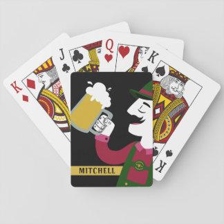 Jeu De Cartes Cartes de jeu nommées faites sur commande