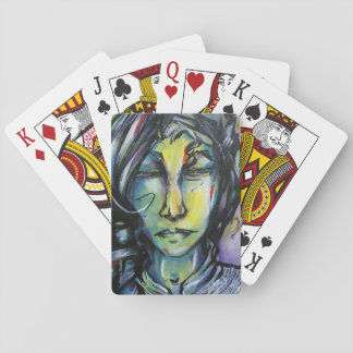 "Jeu De Cartes Cartes de jeu originales d'art - ""je ne sais pas"