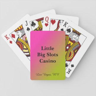 Jeu De Cartes Cartes de jeu personnalisées