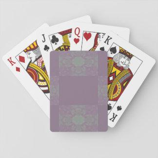 Jeu De Cartes Cartes de jeu pourpres de Dreadlocks