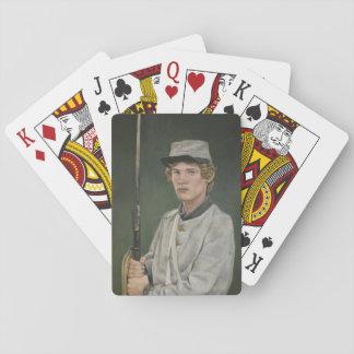 Jeu De Cartes Cartes de jeu rebelles d'art de portrait de