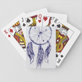 Jeu De Cartes Cartes de jeu rêveuses de receveur
