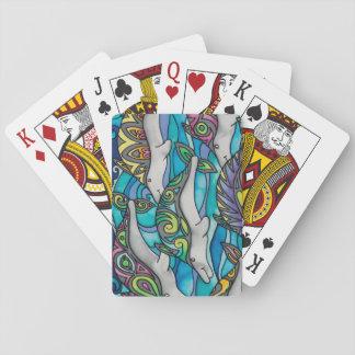 Jeu De Cartes Cartes de jeu : Série de dauphin