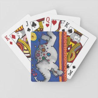 Jeu De Cartes Cartes de jeu : Série d'éléphant