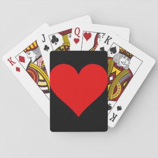 Jeu De Cartes Cartes de jeu solides de coeur