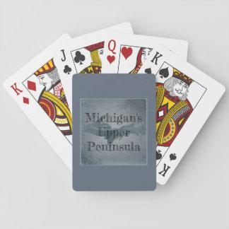 Jeu De Cartes Cartes de jeu supérieures de péninsule du Michigan