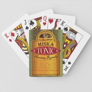 Jeu De Cartes Cartes de jeu toniques d'Armitage Miska