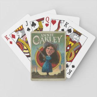 Jeu De Cartes Cartes de jeu vintages d'Annie Oakley