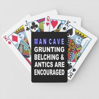 Jeu De Cartes Caverne d'homme