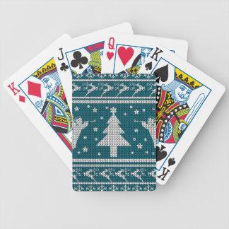 Jeu De Cartes Chandail laid de Noël