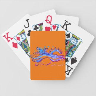 Jeu De Cartes Chat de l'eau d'amusement sautant les cartes de