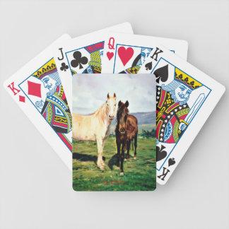 Jeu De Cartes Chevaux/Cabalos/Horses