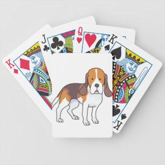 Jeu De Cartes Chien de beagle