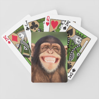 Jeu De Cartes Chimpanzé de grimacerie des images   de Getty