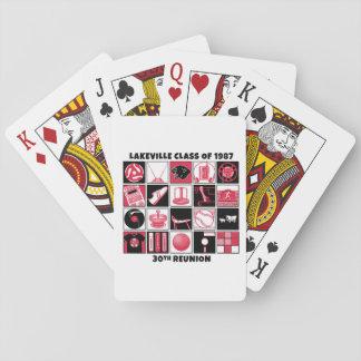 Jeu De Cartes Classe de Lakeville des cartes 1987 de jeu