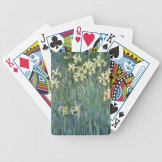 Jeu De Cartes Claude Monet | les iris jaunes