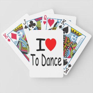 Jeu De Cartes coeur i pour danser b