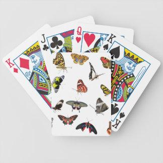 Jeu De Cartes Collage de collection de papillon