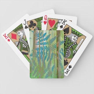 Jeu De Cartes Collage des fougères et de la forêt | Seabeck, WA