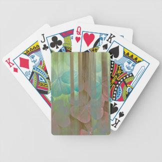 Jeu De Cartes Collage d'Oxalis et d'arbres | Seabeck, WA