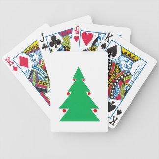 Jeu De Cartes Conception 8,5 d'arbre de Noël par 8,5 le 21
