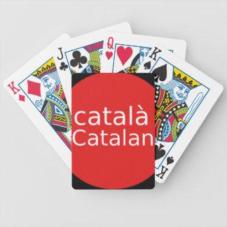 Jeu De Cartes Conception catalanne de langue