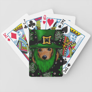 Jeu De Cartes Conception d'art de St Patty Doxie