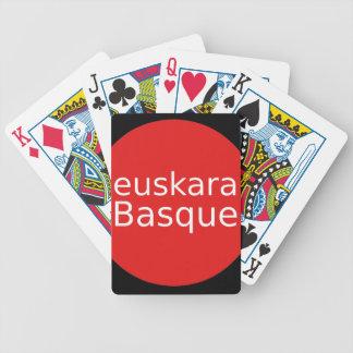 Jeu De Cartes Conception de langue Basque