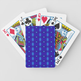Jeu De Cartes Conception moderne chic chique de bleu royal