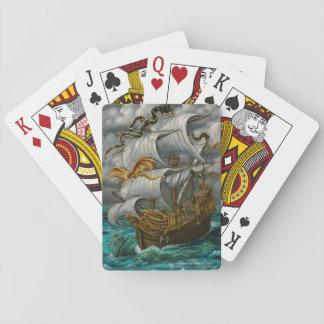 Jeu De Cartes Conduite du bateau de manière avec des cartes de